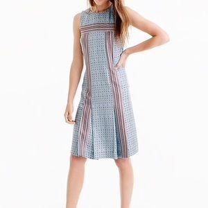 J. Crew Silk Foulard Jcrew Dress
